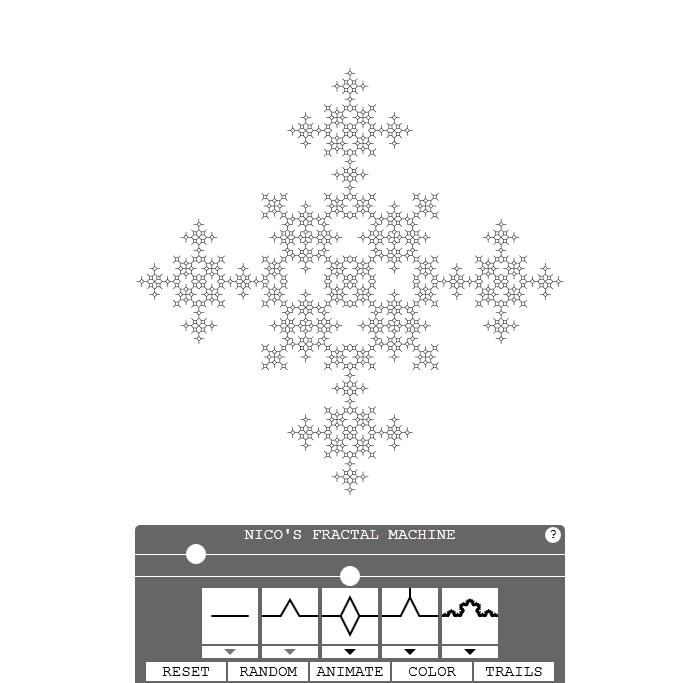 cross fractal